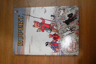 RUPERT ORIGINAL ANNUAL 1955 Not Price Clipped VG (comps completed)