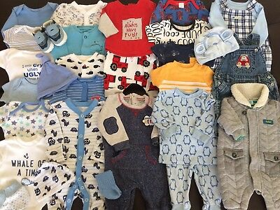 *Lovely Collection/Bundle Of Baby Boys Newborn Clothing Inc Ted Baker & Next*