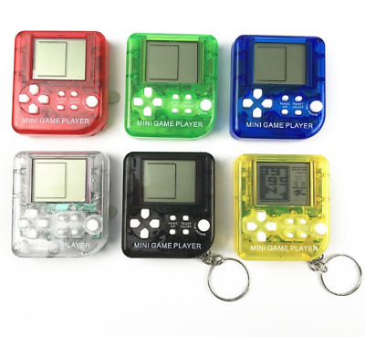 Mini Classical Game Tetris Electronic Cyber Machine Education Toys For Kids Game