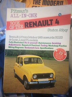 book of the renault 4 pitmans all in one