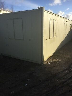 Site Office. Welfare Unit. Shipping Container 32ft x 10ft