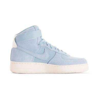 meet a08a3 75b34 Hommes Nike Air Force 1 Haut 07 Baskets en Daim AQ8649 400 Coffret sans