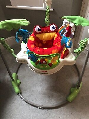 Fisher-Price Rainforest Jumperoo, used but in great condition