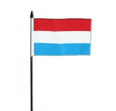 Luxembourg Small Hand Waving Flag