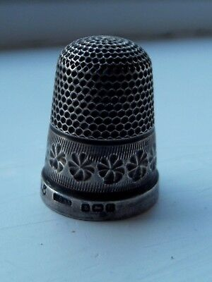 Two Henry Griffith & sons thimbles 1919 and 1925