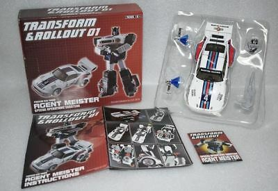 New Transform and Rollout TnR TR-01 Agent Meister MP JAZZ Figure In Stock