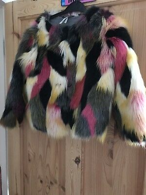 Girls Fake Fur Coat