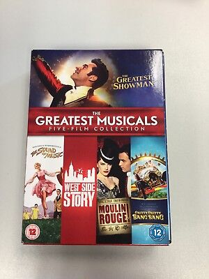 The Greatest Musicals Five-Film Collection [DVD][Region 2] Inc Greatest Showman