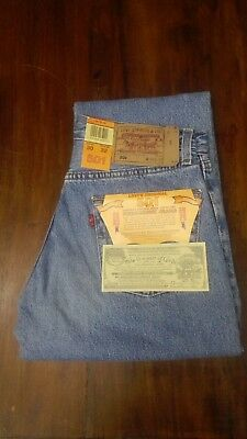LEVI'S jeans LEVIS 501 blu classic denim Vintage style Tg. W30 L32 MADE in SPAIN