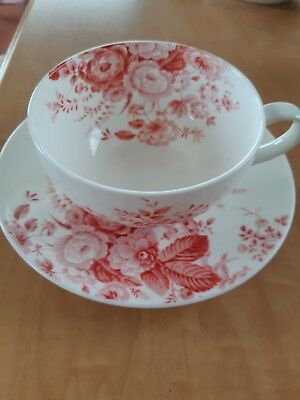 Laura Ashley Lg Cup & Saucer