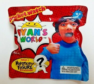 Ryan's World Blind Bag Mystery Figure Accessory Toy Review 2018 Ser 1 Free ship