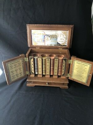 Franklin Mint Aces and Eights Collectors Edition Poker Set