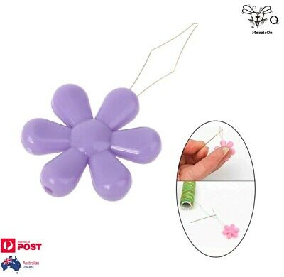 Butterfly Wire Needle Threader Cross Stitch Insertion Tool For Sewing x 2Pcs