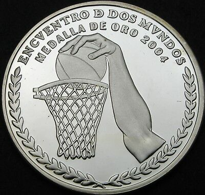 ARGENTINA 25 Pesos 2007 Proof - Silver - Basketball Gold Medal 2004 - 1930 ¤