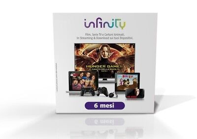 Infinity pass 6 mesi! Invio immediato!