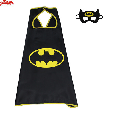 Superhero Cape (1 cape+1 mask) for kids birthday party favors and ideas 08