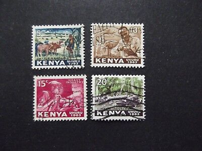 Kenya - Elizabeth 1963 Used Set