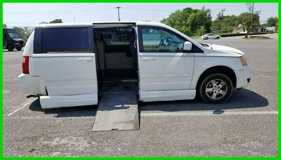 2008 Dodge Grand Caravan SXT VAN WHEELCHAIR HANDICAP POWER RAMP SIDE ENTRY 2008 SXT Used 3.8L V6 12V