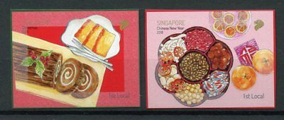 Singapore 2018 MNH Festivals Christmas Chinese New Year 2v S/A Set Stamps