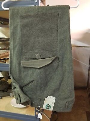WWII Swedish Military Pants Size 32 Dated 1941