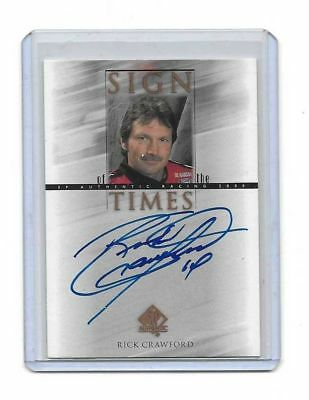 2000 Upper Deck SP Authentic Sign Of The Times Rick Crawford BV$$$ MUST SEE!