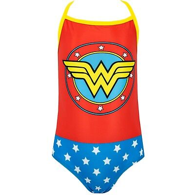 Wonder Woman Swimsuit Girls Dc Comics Wonder Woman Swimming