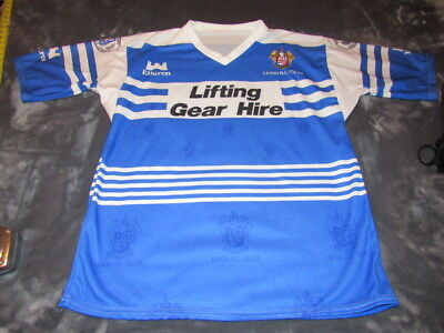 Leigh R.l. Club Ellgren Rugby Jersey Size Large The Rugby Football League