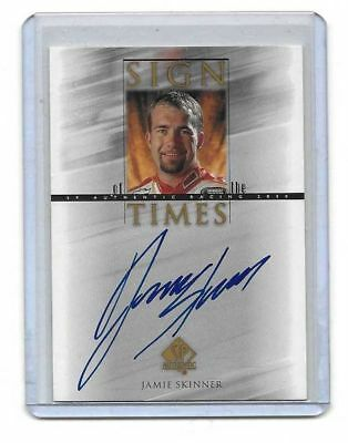 2000 Upper Deck SP Authentic Sign Of The Times Jamie Skinner BV$$$ MUST SEE!