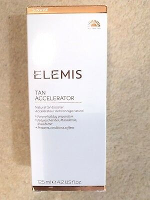 Elemis tan accelerator - 125ml - brand new and sealed -  in box