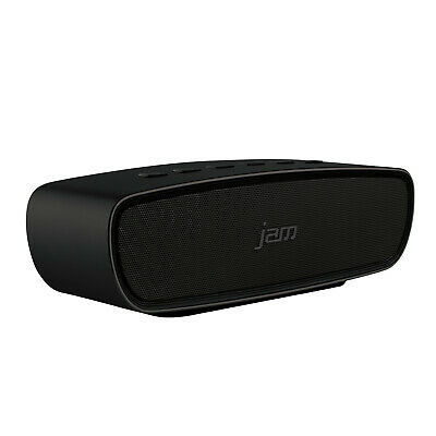 Jam Audio Heavy Metal Stereo Bluetooth Wireless Speaker + 20W Drivers - BLACK