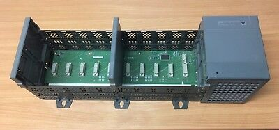 Allen Bradley SLC 500 10-Slot Rack 1746-A10 Series B, with Power Supply 1746-P4