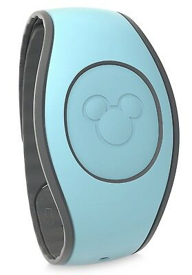 NEW Disney Parks Light Aqua Turquoise Blue MagicBand 2 Link It Later Magic Band