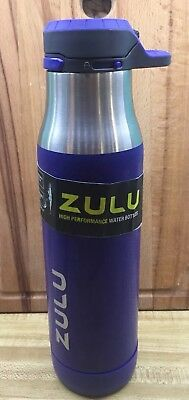 aae0788ae9 ZULU CHARGE BPA-FREE Plastic Water Bottle with 360 Dial-a-Flow Lid ...