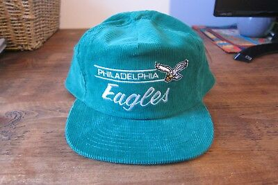 Philadelphia Eagles Green Corduroy Cap NFL Officially Licensed Product