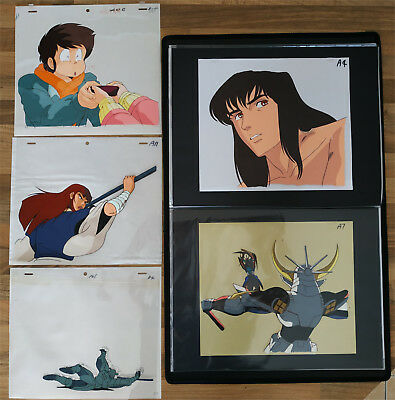 Lot De 5 Cellulos Anime Cel
