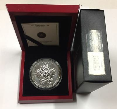 Canada 2013 $50 25th Anniversary of the Silver Maple Leaf Silver Coin Orig $499