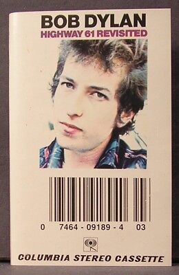 Highway 61 Revisited by Bob Dylan (Columbia Stereo Cassette)