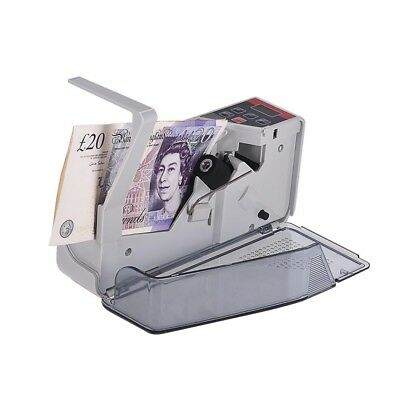 Handy Bill Cash Money Currency Counter Counting Machine Financial Equipment D0G7