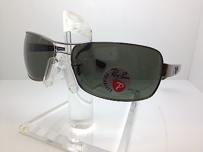 5ce601e534 Authentic Rayban Sunglasses Rb3379 004 58 64Mm Rb 3379 Polarized Lens Italy