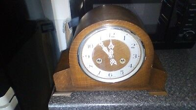 Vintage Striking Mantel Clock
