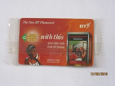 BT Phonecard - New Chip  - New & Sealed £1 Phone Card