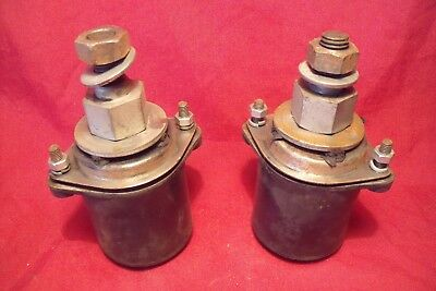 Simca A90 / P60 , 2 Supports Moteur Neufs !