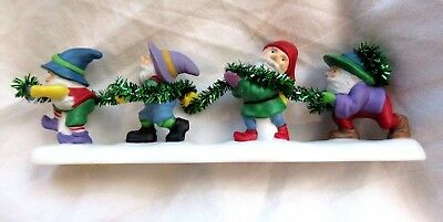 "Department 56 North Pole Series ""Tangled In Tinsel"" (NOS)"