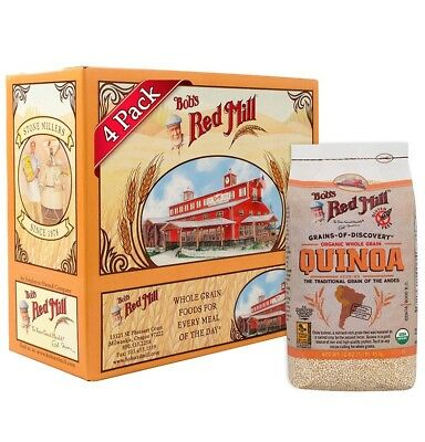 Bob's Red Mill Organic White Quinoa, 16 Ounce (Pack of 4)