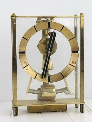 Vintage Kundo Electronic Kieninger & Obergfell Mantel Clock Germany  Parts