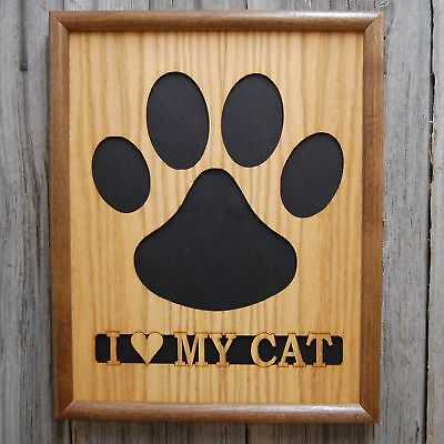 11x14 Cat Paw Print Picture Frame
