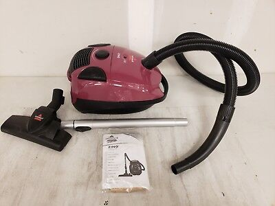 BISSELL Small Canister Vacuum Floor Upholstery Lightweight Home Vac Cleaner