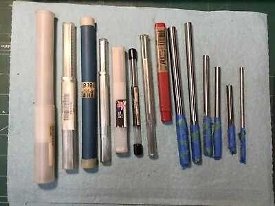 Lot of 14 Assorted Reamers Some Have Very Little Wear