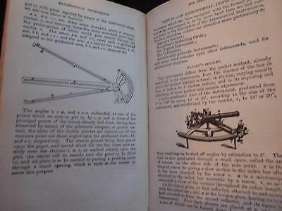 1874 Treatise On Mathematical Optical Astronomical Instruments Scarce Quality Bk
