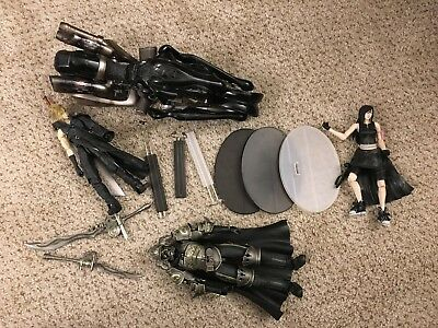 Final Fantasy VII 7 Play Arts Action Figure Lot Incomplete